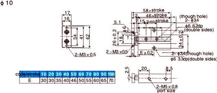 Berbagai kualitas tinggi batang ganda pneumatik silinder buy berbagai kualitas tinggi batang ganda pneumatik silinder ccuart Images