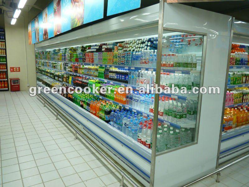 Hot Sale Supermarket Fruit Display Fridge/vegetable Refrigerated ...