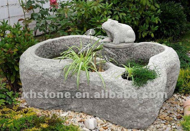 Fuentes Para El JardnPiedra Natural Pjaro Estatua Agua ChinaBird