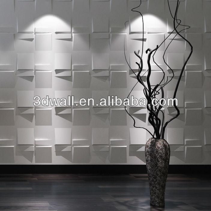 Eco Friendly Exterior Wall Panels Vinyl Coated Gypsum