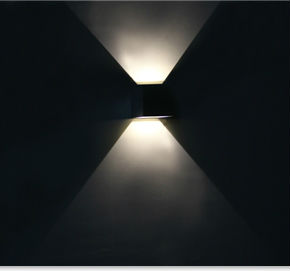 Indoor & Outdoor 2x3w Up And Down Wall Lamp /up And Down Wall ...