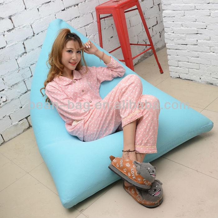 Soft Portable Bulk Sofa Style Lazy Sit Bean Bag Chair