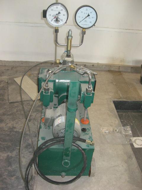 Cylinder Testing Lab Machines Cng Cylinder Hydraulic