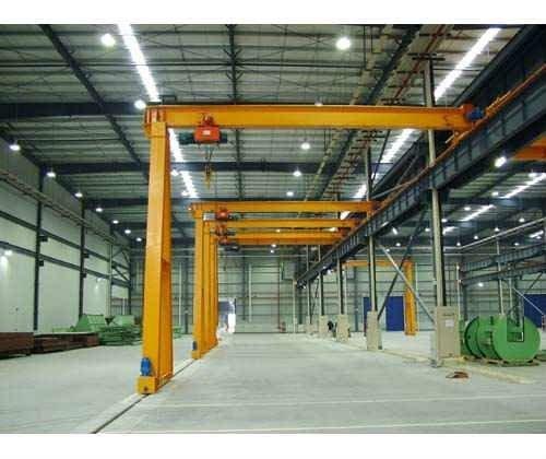 Bmh Model Monorail Single Beam Half Gantry Crane Buy