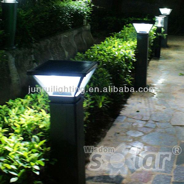 high lumens ce solar garden light 8w super bright solar led lamps outdoor street
