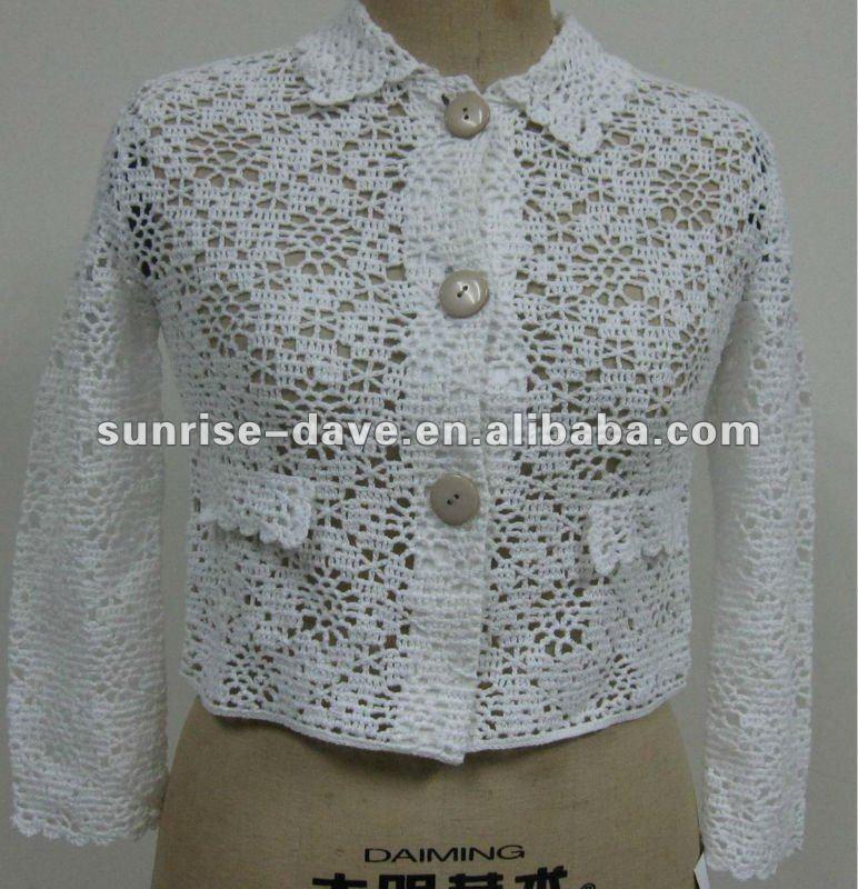 Señora Crochet Bolero Patrón/capa Caída - Buy Ganchillo Bolero ...