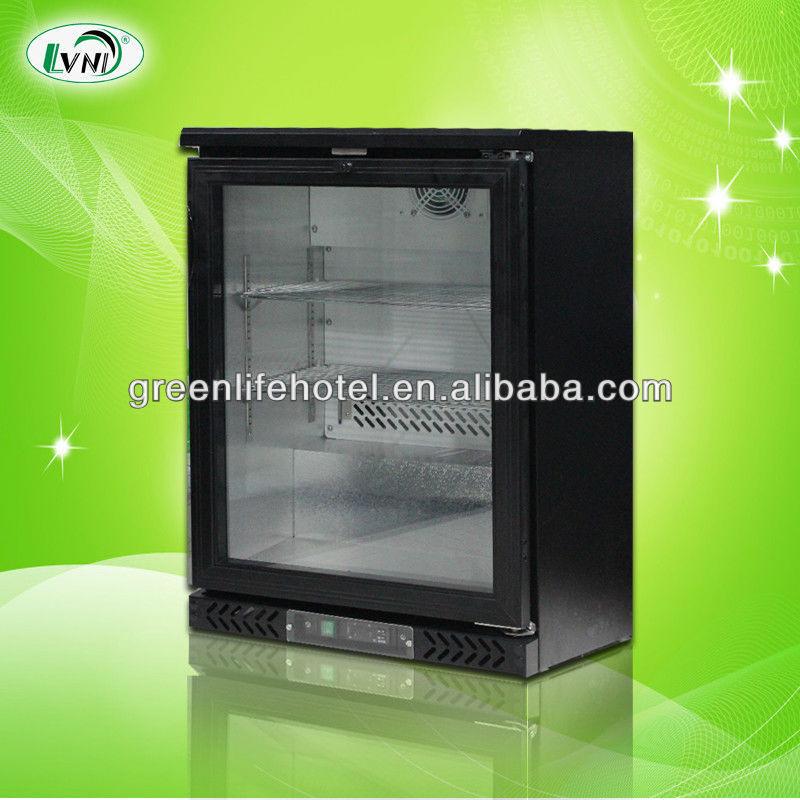 lvni 200l glass door upright display freezer small display freezerused glass door display