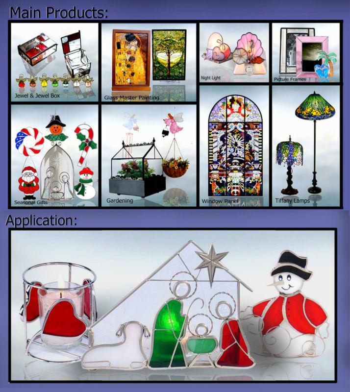 Glas In Lood Engels.Mx050019 Groothandel Tiffany Stijl Christmas Glas Versiering Glas In