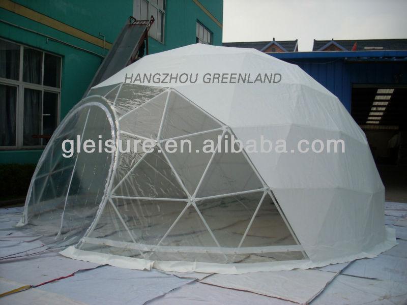 Stahlrahmen Dome Zelt Fur Veranstaltung Mit Pvc Stoff