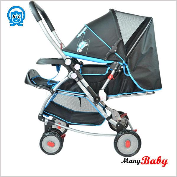 Swivel wheels cheap travel baby stroller buy baby Motorized baby stroller