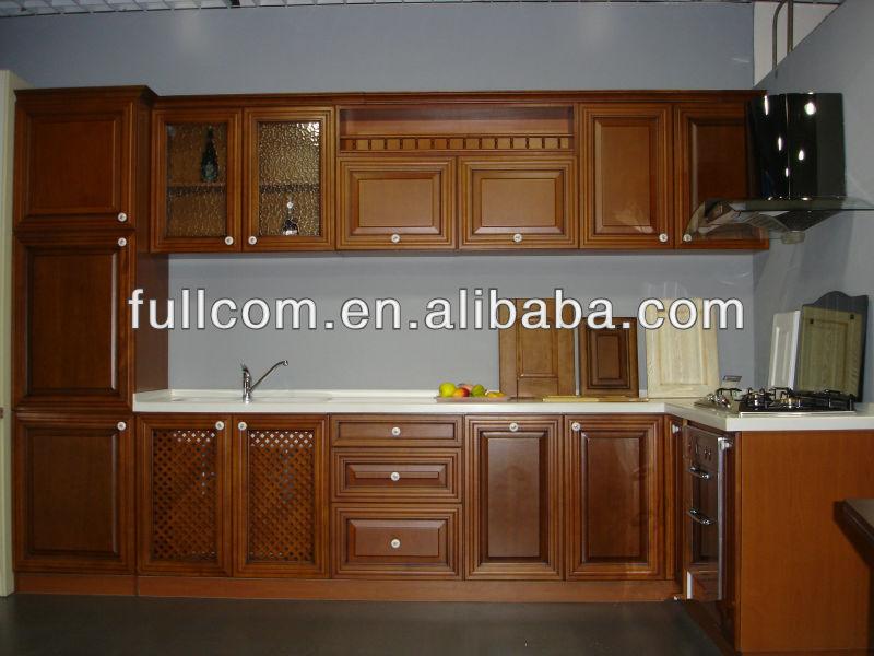Contemporáneo Muebles De Cocina De Pintura De Color Cereza Modelo ...