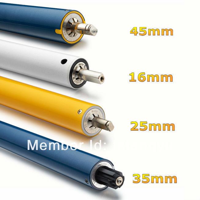 12v 24v Dc Tubular Motor Roller Blind Fabric Electric