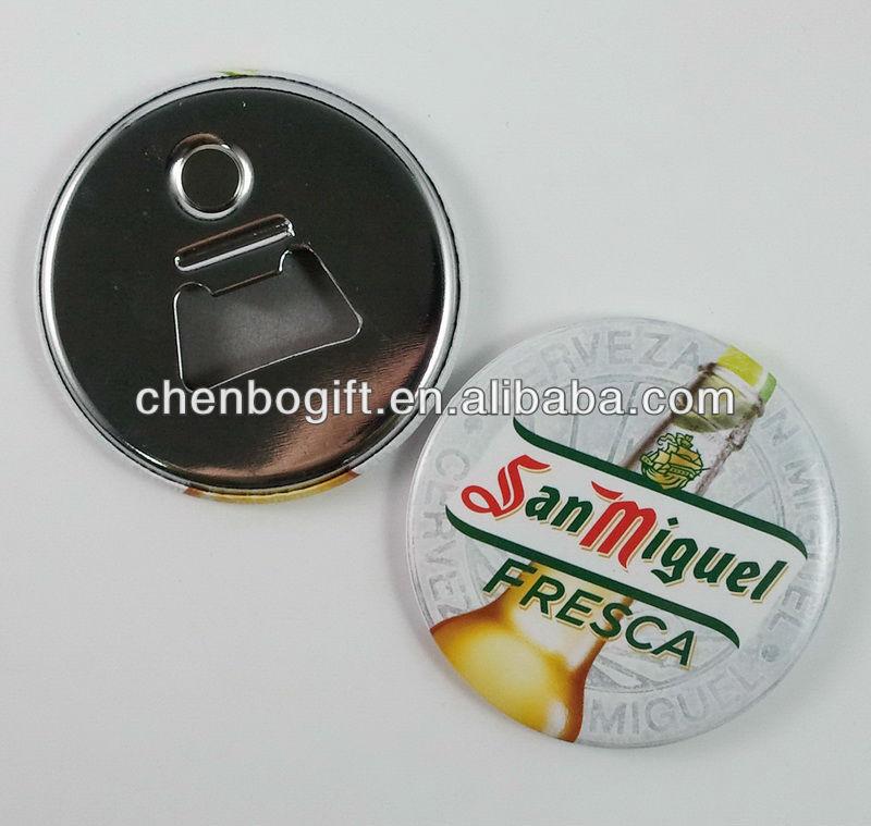 Custom made tin bottle opener with magnet promotion bottle opener fridge magnet plastic bar beer - Beer bottle opener fridge magnet ...