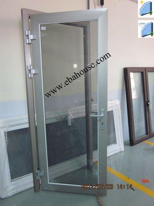 ahorro de energa de aluminio de cristal abatible puerta exterior