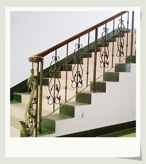 Pasamanos de hierro para escaleras verphpsrcud with - Pasamanos de escalera ...