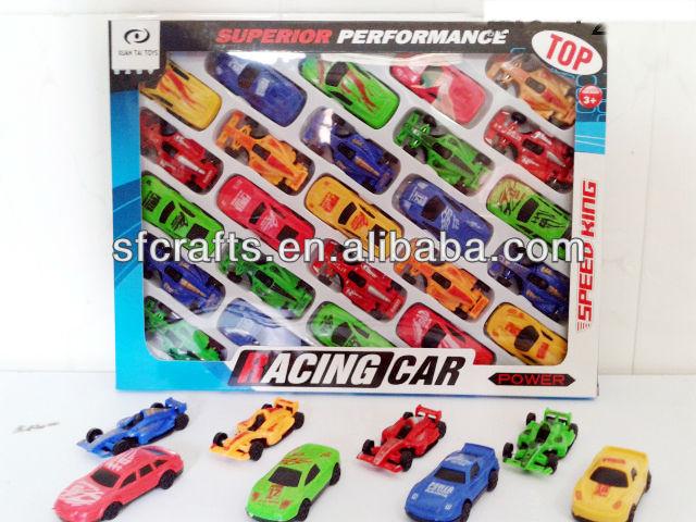 plastic free wheel mini racing f1 car toyssmall mini cheap toy racing f1 car