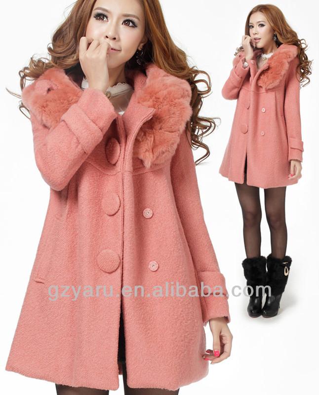 Women Super Warm Winter Coats Ankle Length Feminine Winter Coats