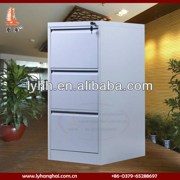practical standard size steel 3 drawer metal file cabinet,steel 3 drawer metal file cabinet