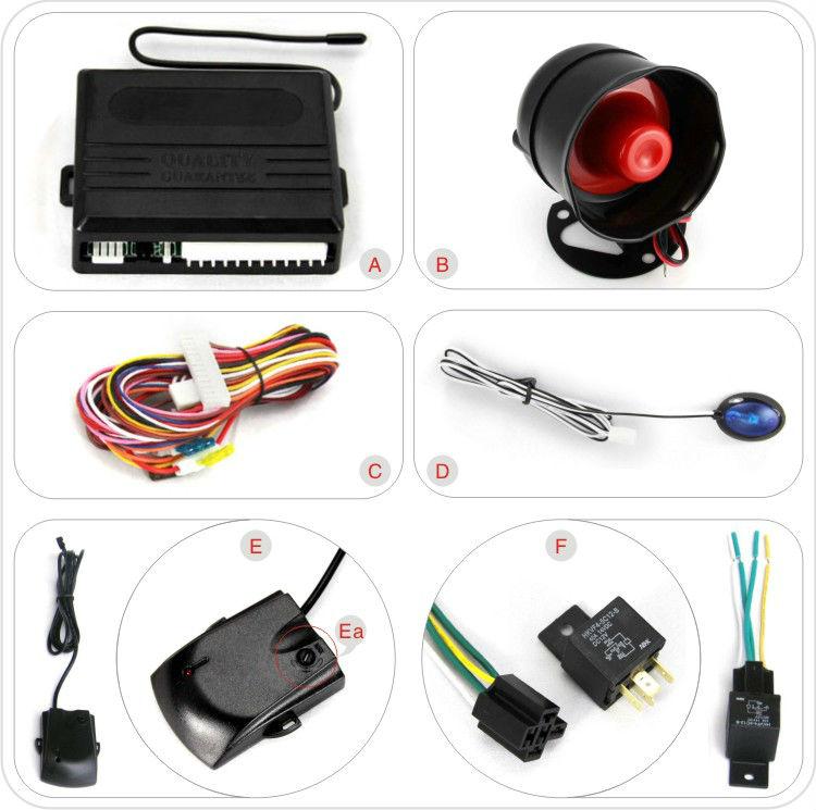 Best Shock Sensor Car Alarm