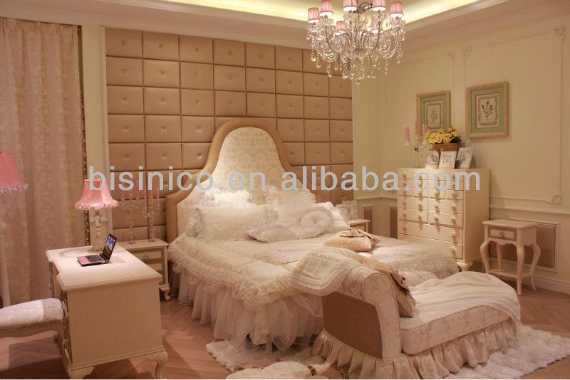 Elegant Princess Bedroom Furniture Romantice Bedroom Set B50612 View Teenage Bedroom Furniture Sets Bisini Product Details From Zhaoqing Bisini