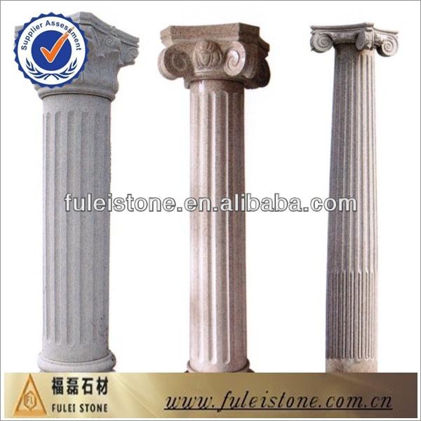 Round square pillar design granite and marble pillar buy for Decorative square columns
