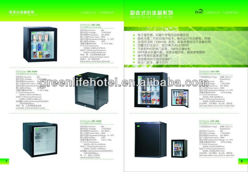 Lvni 30l Home Appliance Hotel Cabinet Fridge No Noise Mini ...