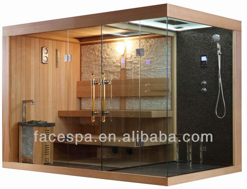 Cabina Doccia Con Sauna.Cabina Doccia Con Sauna Finlandese Fs 1388 Porta In Vetro Buy