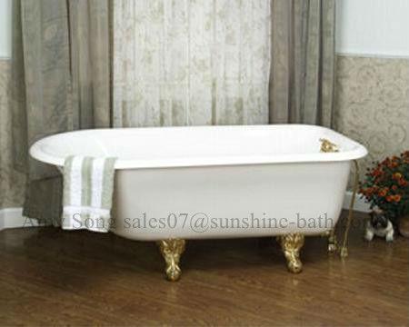 Vasca Da Bagno Piccola In Ghisa : Luce blu vasca da bagno color piccola rullo superiore vasca vasca da