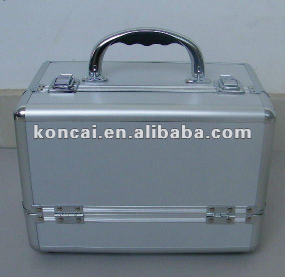 Multifunction Handbag Make Up Box With Aluminum Surface Finishing 5