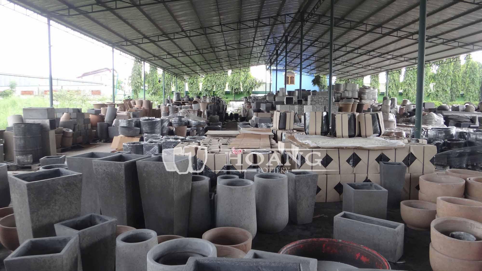 Contemporary Concrete Planters - Buy Light Cement Pot,Light ...