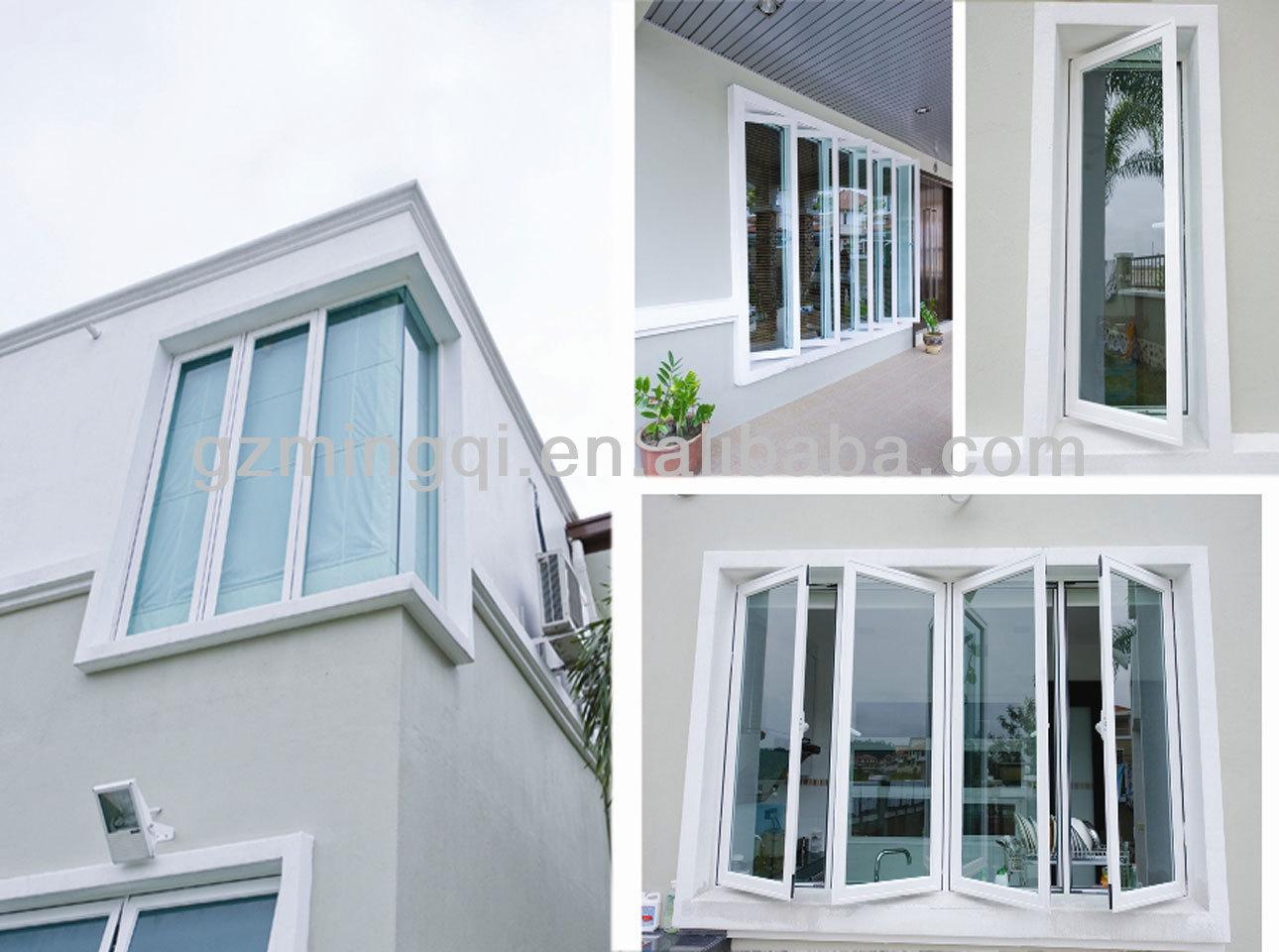 Glass windows house - European Plastic Upvc Tilt And Turn Windows For House New Design For Home Windows