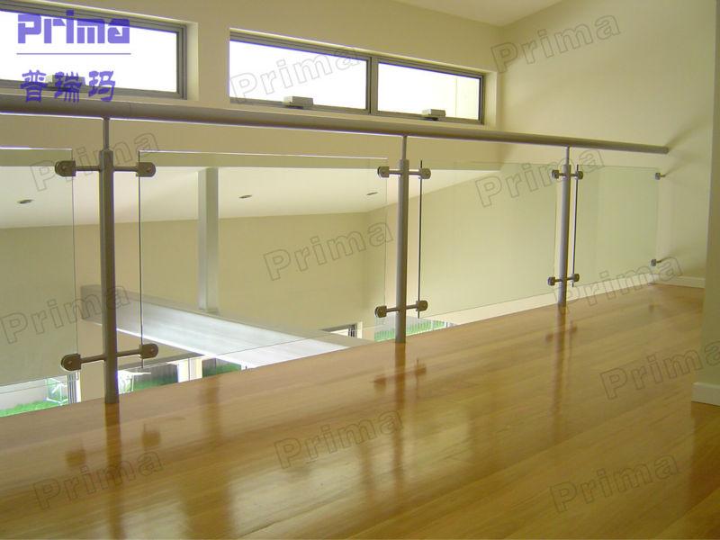 Deck railing glass panels acrylic for pool