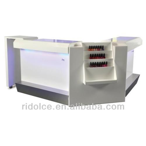 Nail Bar Combine Used Nail Salon Furniture Wholesale Beauty Supply Store  TKN D116 + TKN