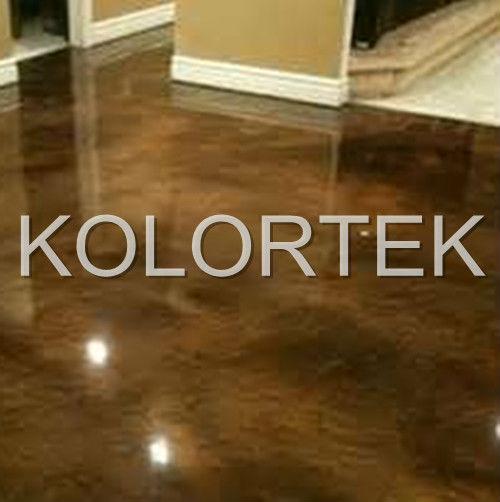 Pearlescent Metallic Epoxy Floor Pigment
