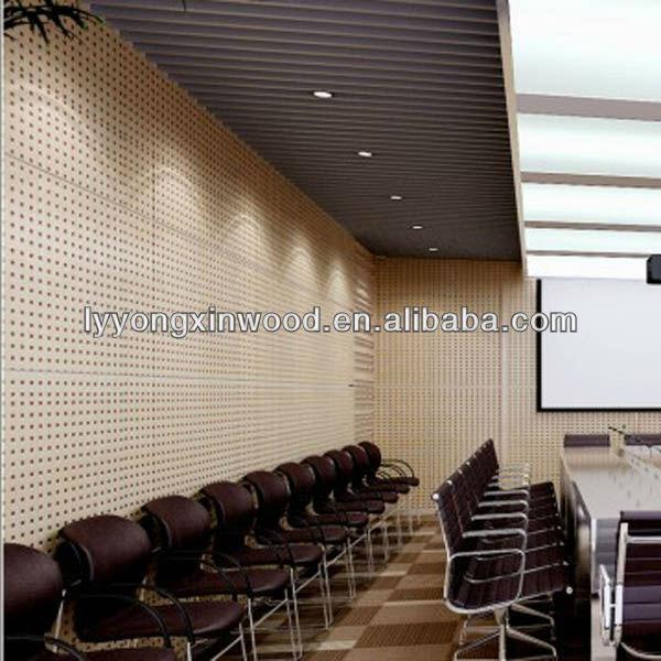 interior acoustic wood fiber wall panels