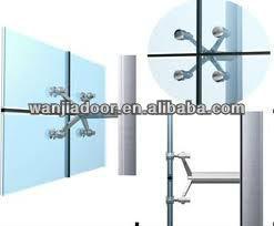 green glass curtain wall/structural glass curtain walls/exterior ...