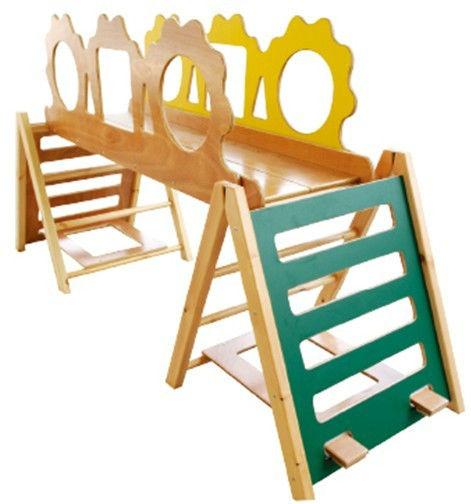 2013 Safe Eu Standard Wooden Slide/kids Toy Indoor Playground ...