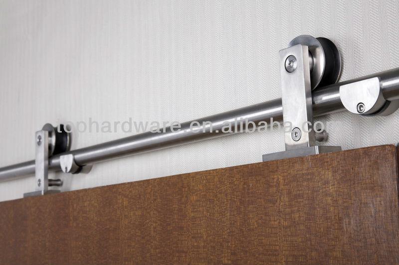 acero inoxidable sistema de puertas correderas para puertas de madera
