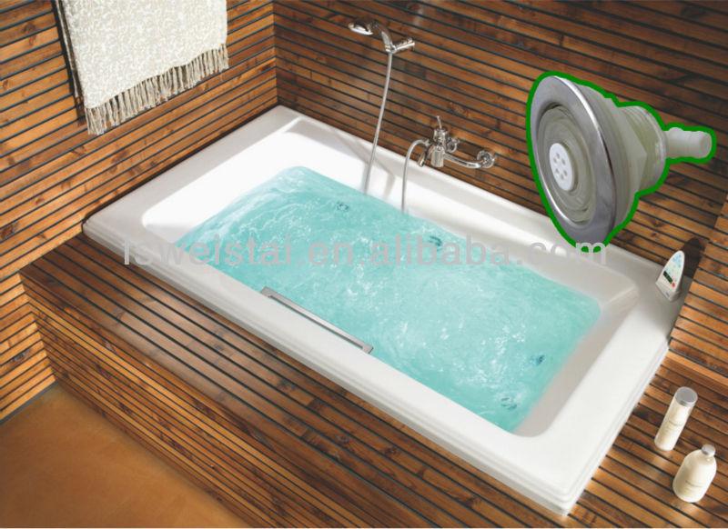 Tappo Vasca Da Bagno In Inglese : Tappo in acciaio inox a tre fori bolla d aria a getto per vasca da