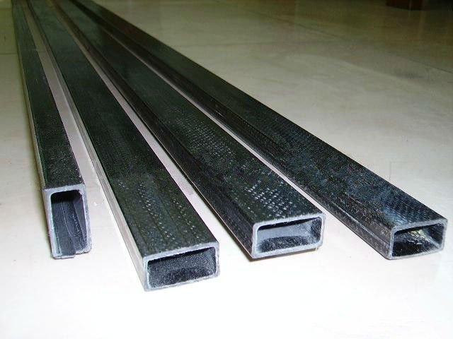 Carbon Fiber Reinforced Polymer : Pultrusion carbon fiber reinforced polymer square tubes