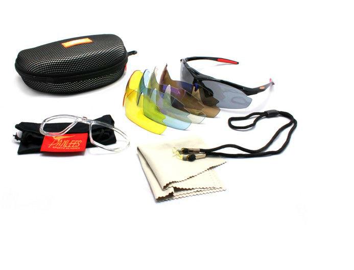 Optical Insert Sunglasses  polarized sports sunglasses with optical insert lens for cycling