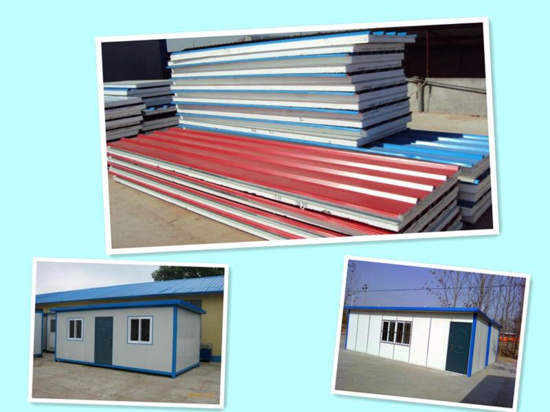 Sandwich Panel Cladding : Metal cladding eps sandwich panel roof buy