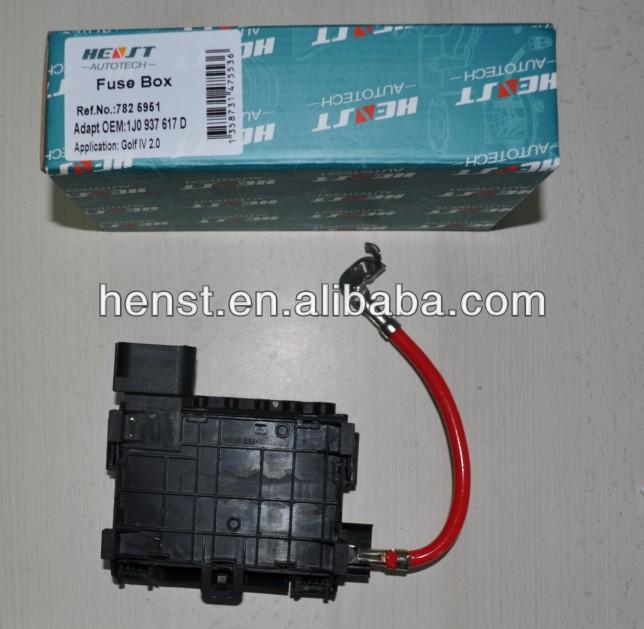 Fuse Box 1j0 937 617 D For Vw Golf Iv