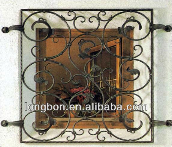 2012 Top Selling Modern Steel Window Grill Design
