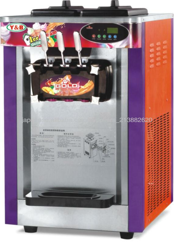 Cheap Ice Cream Machine Swirl Ice Cream Filling Machine