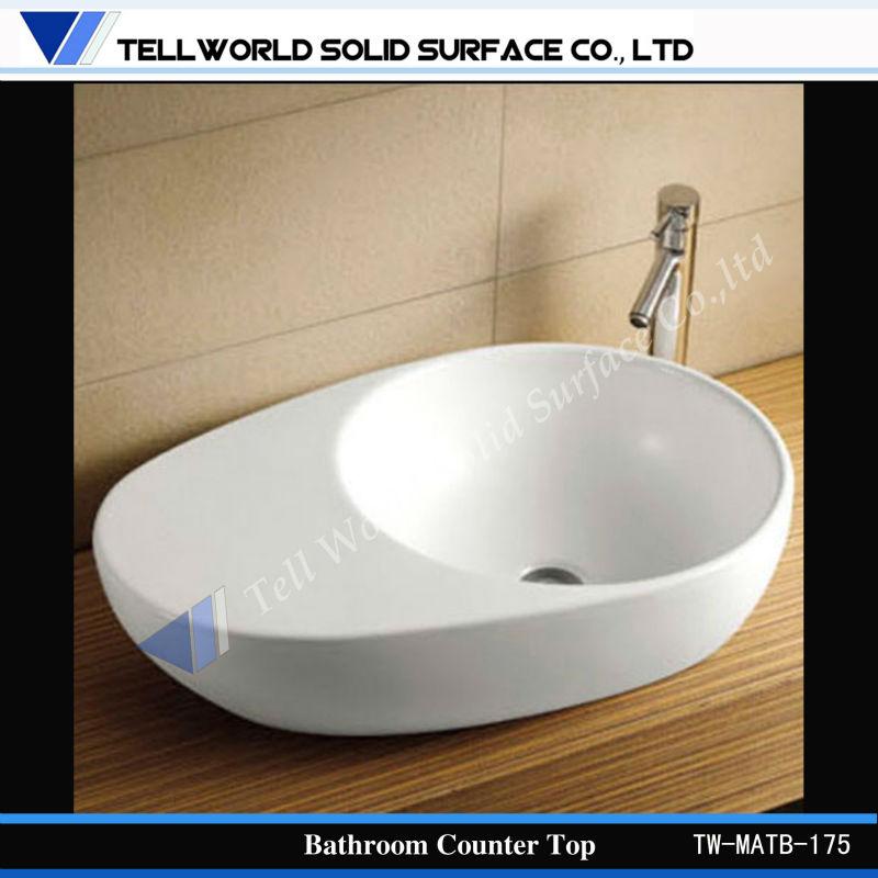 tell world modern home design counter top basins hand wash basin