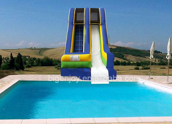 Warm te koop mini opblaasbare jet water zwembad glijbaan for Mini zwembad