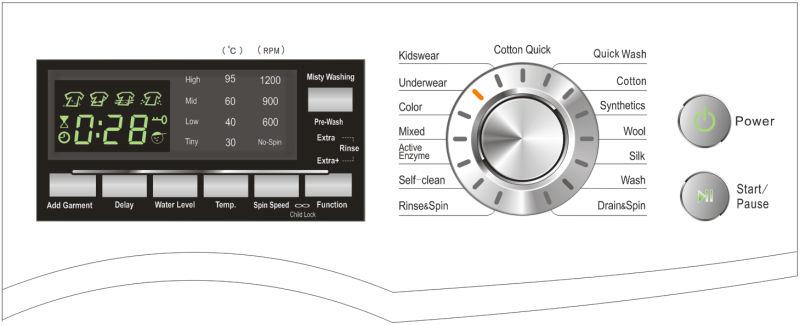 washing machine electrical requirements