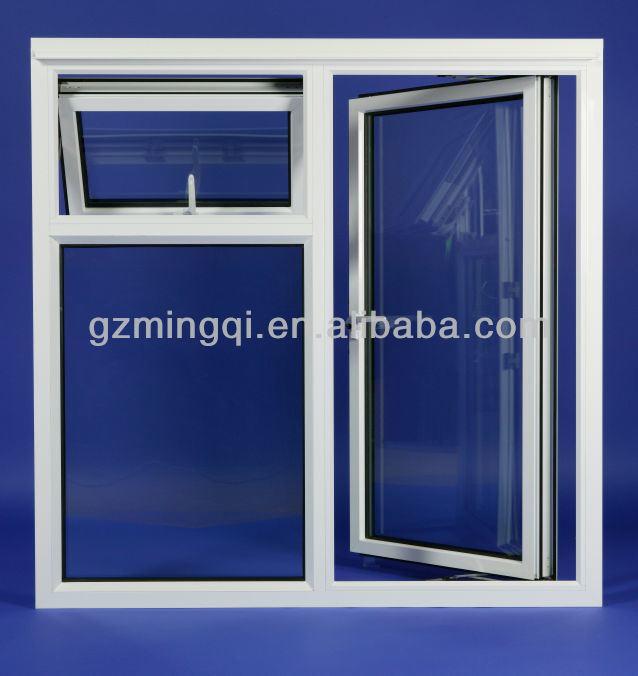 European Plastic Upvc Tilt And Turn Windows For House New