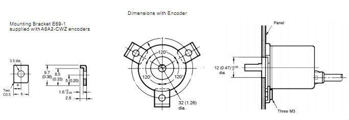 a6a2 mini type rotary encoder